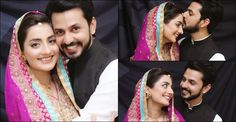 Bilal Qureshi & Uroosa Qureshi Pakistani Celebrities Wedding Pics