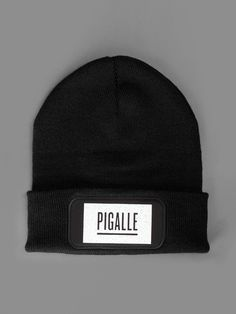 NEW IN Pigalle beanie with patch on the front #pigalle