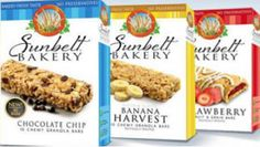$0.55 off Sunbelt Bakery Product Coupon on http://hunt4freebies.com/coupons