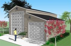 Bradley Mighty Steel RV Garage for sale, RV Shelter pricing Rv Garage Plans, Boat Garage, Carport Garage, Garage House, Garage Ideas, 10x10 Shed Plans, Shed Floor Plans, Diy Shed Plans, Barn Plans