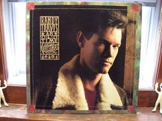 Randy Travis An Old Time Christmas EXcellent Vinyl LP Ultrasonically Cleaned
