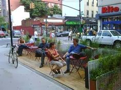 Bay Ridge 5th Avenue B.I.D.: Street Seats Program for Merchants