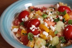 Salade Healthy, Grains, Veggies, Rice, Lunch, Cooking, Food, Dinner Healthy, Cooking Recipes