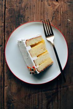 Citrus Confetti Cake, via Molly Yeh