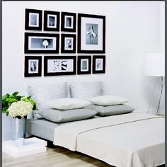 I really want to buy these frames to create a picture wall in my living room. From picturewall.com