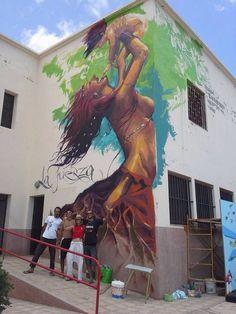 """by El Niño de las Pinturas - """"La Fuerza"""" - Fuerteventura, Canary Islands (Spain)…"""