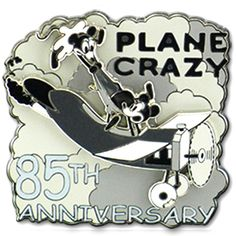Plane Crazy 85th Anniversary Pin
