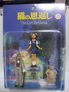 The Cat Returns Ghibli Set of 3 Figure Haru Yoshioka Baron Humbert von Gikkingen The Cat Returns, Hopes And Dreams, Christmas Villages, Baron, Studio Ghibli, Anime Couples, Nerdy, Kawaii, Dolls