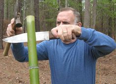 Sensible Survival: Build a Bamboo Survival Bow in 30 Minutes skill no 30