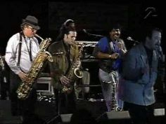 Tower of Power Pitea, Sweden 1996 Brent Carter-Lead Vocals Emilio Castillo-Tenor Sax and Lead Vocals Bill Churchville-Trumpet Berry Danielian-Trumpet Stephen. Tower Of Power, Tenor Sax, James Brown, Good Music, Friends, Amigos, Boyfriends, True Friends