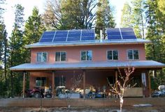 """Off-the-Grid Living: """"We Would Never Go Back to Energy Dependence""""    5/2/2011 Article   By Robyn Griggs Lawrence"""