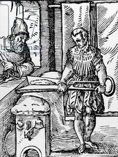 "The Carder from ""Panoplia Omnium"", 1568, Hartman Schopper, Frankfurt"