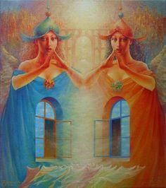 Tutt'Art@ | Pittura * Scultura * Poesia * Musica |: Valeriy Kot, 1958 ~ Surrealist painter