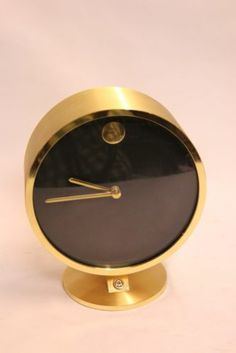 1000 images about gold clock on pinterest clock wall - Wanduhr modern weiay ...