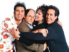 Seinfeld. Some of the episodes i've seen so many times, i practically know them by heart, but i watch them again and again as if it were the first time. You just fall in love with the characters.