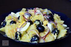 Salata orientala - CAIETUL CU RETETE Fruit Salad, Salads, Healthy Eating, Appetizers, Healthy Recipes, Homemade, Vegan, Breakfast, Food