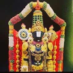 We have compiled amazing Tirupati Balaji Images from the web. The Lord Tirupati chose to stay on the Venkata Hill, which is a part of the famous Seshachalam Hills till the end of Kali Yuga. Lord Balaji, Lord Vishnu Wallpapers, Light Background Images, Puja Room, Hindu Deities, Cool Pictures, Painting, God, Dios