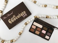 Too Faced Matte Chocolate Chip Eyeshadow Palette Review and Swatches