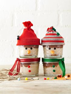 A tasty DIY food gift is the present everyone loves. We have fun food gift ideas for everyone on your list, including creamy chocolate truffles, Christmas cookies, hot sauce, flavored syrups, and more. #diychristmasgift #diygift #homemadechristmasgifts #easydiygifts #bhg Mason Jar Christmas Crafts, Christmas Food Gifts, Handmade Christmas Gifts, Mason Jar Crafts, Christmas Goodies, Holiday Crafts, Christmas Diy, Homemade Christmas, Christmas Chocolate