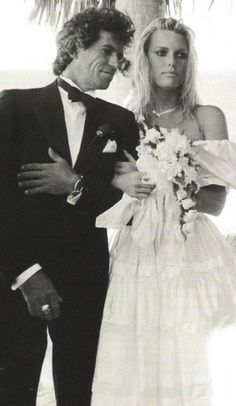 Patti Hansen and Rolling Stones guitarist Keith Richards: married since 1983.