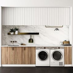 """Mi piace"": 8,326, commenti: 69 - A Designer's Mind (@adesignersmind) su Instagram: ""Laundry love!! Functional and gorgeous!! Project & Image by: @fisherpaykelau #architecture…"""
