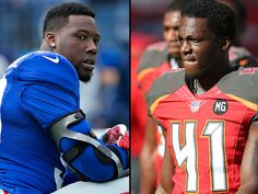 NFL Players Jason Pierre Paul and CJ Wilson Lose Fingers in Separate Fireworks Mishaps over Fourth of July Weekend