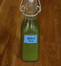 Basil Oil from the Tasting Table Test Kitchen