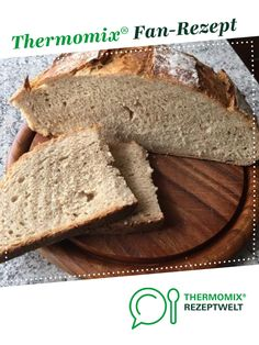 Dinkelbrot / Dinkelkruste wie aus dem Holzofen Spelled bread / spelled crust as from the wood oven of A Thermomix ® recipe from the category Bread & Rolls on www.de, the Thermomix® Community. Pampered Chef, Easy Cake Recipes, Bread Recipes, Cookie Recipes, Homemade Desserts, Spelt Bread, Bread Bun, Wood Oven, Chocolate Cake Recipe Easy