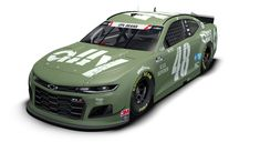 Jimmie Johnson, Ally Racing honor military with new paint scheme for 600 Camaro Zl1, Chevrolet Camaro, Fort Campbell, Jimmy Johnson, Service Medals, Nfl Football Players, Bmw 4, Car Finance, Nascar Racing