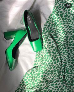 Green Pumps, Heels, Fashion, Heel, Moda, Green Heels, Fashion Styles, High Heel, Fashion Illustrations