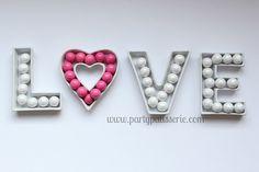 Sweet Ceramic Love Letter Dish-PartyPatisserie