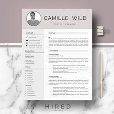 resume templates design resume template cv template