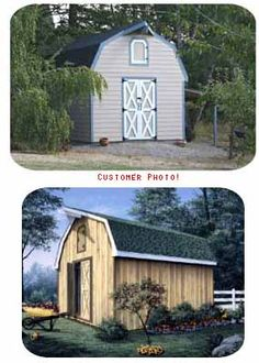 Barn Style Storage Shed Plan