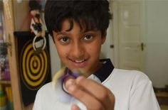Mehul Garg, 10, an Indian-origin boy from the United Kingdom, has accomplished highest score in Mensa IQ test. He has superseded the scores of both Albert Einstein and Stephen Hawkins by scoring 162, which are two marks higher than that of the science geniuses. He scored this number in the IQ test meant to become Mensa member and was chosen to be the youngest member of the decade. Mehul is a student of Reading Boys Grammar School in Reading, southern England. He enjoys solving Rubik's Cube…