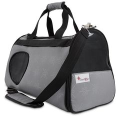 Good2Go Ultimate Pet Carrier in Gray and Black ** Read more reviews of the product by visiting the link on the image. (This is an affiliate link and I receive a commission for the sales) #PetCats