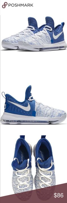 innovative design a7049 56945 Shop Kids  Nike Blue size Various Sneakers at a discounted price at  Poshmark. Description  100 % authentic Nike Zoom KD 9 GS Kevin Durant New  without box.
