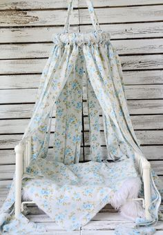 Newborn Photography Prop Vintage Canopy and Layer  Ready to Ship