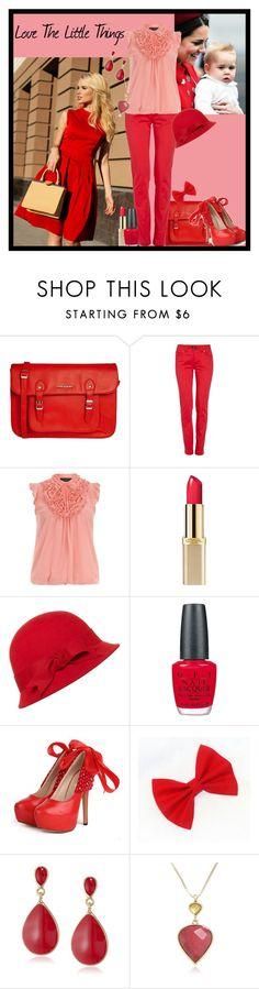 """Love The Little Things"" by toribelle-x ❤ liked on Polyvore featuring French Connection, Morgan, Dorothy Perkins, Anrealage, OPI, Kenneth Jay Lane and Lucky Brand"