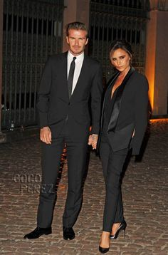 David & Victoria Beckham are the hottest couple at The Global Fund celebration party!