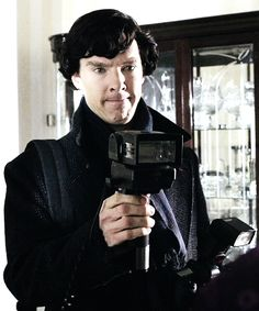 Sherlock. How does your face, sir.