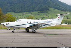 Pilatus PC-12/45 aircraft picture. Emmen (EML / LSME), Switzerland, June 3, 2013
