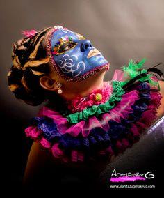Maquillaje:Aranzazu G Make Up.                 Fotografía: Paola Canto Fotografía.            Modelo: Gemma García.