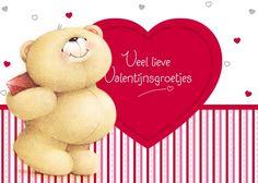 Veel lieve Valentijnsgroetjes