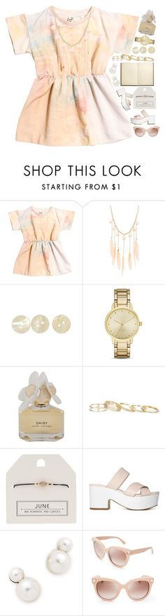 """""""3868"""" by tiffanyelinor ❤ liked on Polyvore featuring Popupshop, Charlotte Russe, Kate Spade, Marc by Marc Jacobs, Kendra Scott, Topshop, Auden and Valentino"""