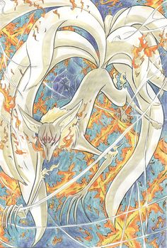 xxxholic pipe fox   Kuda Kitsune x spider web by ~Yueishi on deviantART
