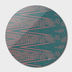 Discover «beautiful tribal», Limited Edition Disk Print by Magdolna Novak - From $65 - Curioos