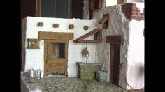 Construyendo una casa de poroexpan en el Belén para labradores.