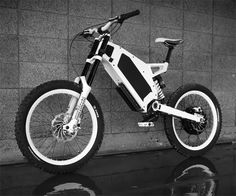 Stealth Bomber Electric Bike | DudeIWantThat.com