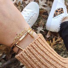 WEBSTA @its_mathilde Zoom sur mes petits bracelets • Bracelet personnalisé prénom «Nans» @sevenseas.hossegor • Bracelet jonc @danielwellington • Bracelet jonc Tube @zagbijoux . . . Bracelets, Bangles, Zoom, Instagram, Jewelry, Fashion, Jewels, Moda, Fashion Styles