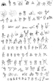 Oodles of tiny doodles by MissPinks